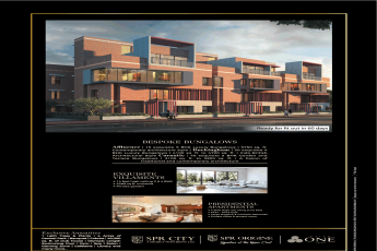 The luxury collection by SPR bungalows, villaments and apartments at SPR City Highliving District, Chennai