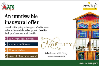 ATS Nobility  INR 250 per sq.ft. discount in Greater Noida