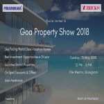Exclusive Invite to GOA Property Show Delhi NCR 2018