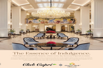 Every day becomes a special occasion at Club Capri in Central Park Resorts, Gurugram