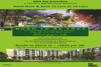 Book now and save Rs 5 Lacs to 16 Lacs at SNN Raj Greenbay in Bangalore