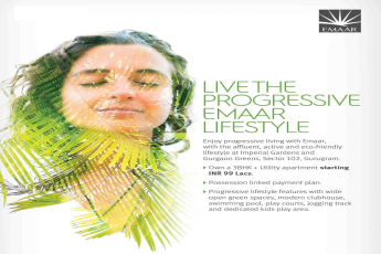 Live the progressive Emaar lifestyle in Gurgaon