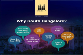 Reasons why your new home should be in South Bangalore?