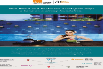 Live in an address with the finest neighbourhood at Ekta Lake Riviera in Mumbai
