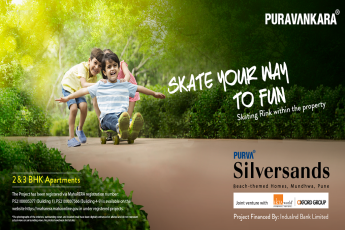 Purva Silver Sands offers skating rink in Pune