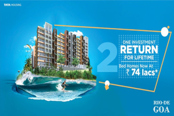 One investment & get return for lifetime at Tata Rio De Goa in Goa