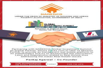NAREDCO partnered with Zricks as Digital Partner for Global Investment Summit 2018
