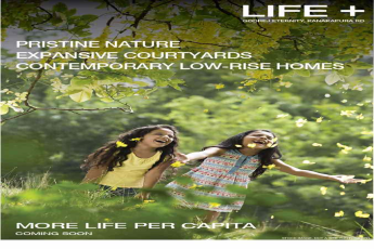 Experience pristine nature with expansive courtyards and contemporary low rise homes at Godrej Eternity in Bangalore