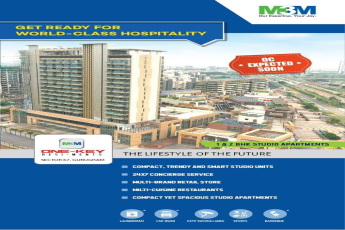 Get ready for world class hospitality at M3M Urbana One Key Resiments in Gurgaon