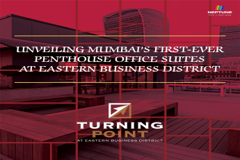 Unveiling Mumbai s first ever penthouse office suites at Eastern Business District