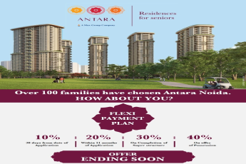10:20:30:40 flexi payment plan at Antara Residences in Noida, Sector 150