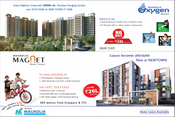 Invest in Magnolia projects in Kolkata