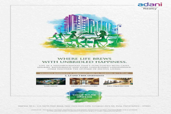 Discover the epitome of zestful living at Adani Codename Greens in Pune