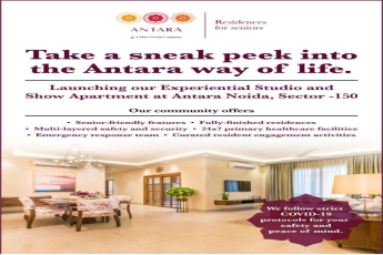 Launching our experiential studio and show apartment at Antara Noida, Sector-150
