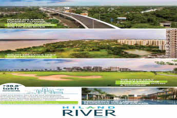 Book your riverside residence @ Rs 38.8 lakhs at Hiland River in Kolkata