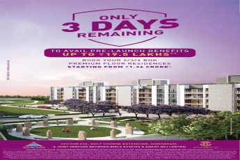 Avail pre launch benefits up to Rs 19 5 lakhs at Birla Navya Estates in Gurgaon
