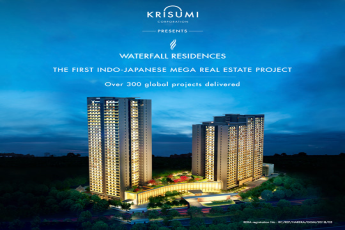 Krisumi Waterfall Residences the first indo japanese mega real estate project in Gurgaon