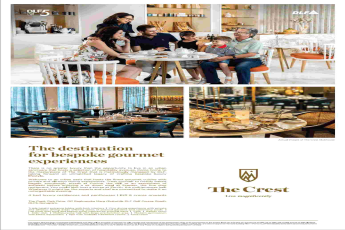 Book 4 bed luxury home & penthouse starting @ Rs. 6 cr. at DLF The Crest in Gurgaon