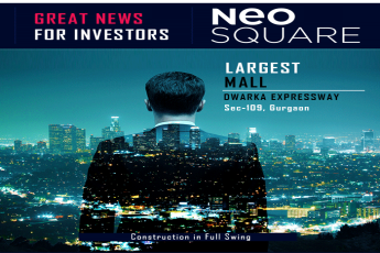 Neo Square construction in full swing in Dwarka Expressway Gurgaon