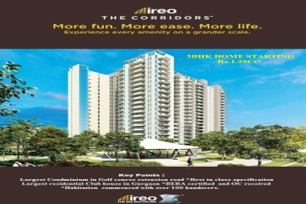 Experience every amenity on a grander scale at Ireo The Corridors in Gurgaon