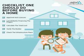 Checklist one should do before buying a home