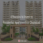 4 Reasons to Invest in Residential Apartments in Ghaziabad