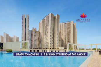 Ready to move in 2 & 3 BHK starting at Rs 62 Lakhs at Tata Amantra, Mumbai