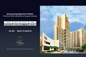 Premium 3 bhk residences at Rs. 1.80 Cr. at Tata Gurgaon Gateway in Gurgaon