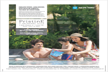 Kalpataru Hills introducing 3 bhk homes at Rs. 1.61 Cr. at Pristine in Mumbai