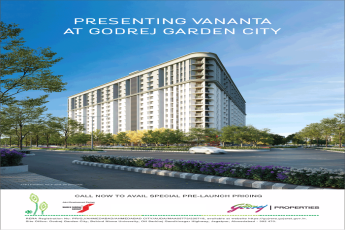 Presenting Vananta at Godrej Garden City avail special pre-launch pricing in Ahmedabad