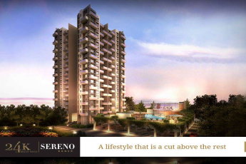 Live a lifestyle beyond your imagination in Kolte Patil 24K Sereno