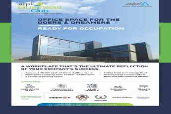 Announce the receipt of Occupation Certificate at AIPL Business Club Sector 62 Golf Course Extn Road Gurugram