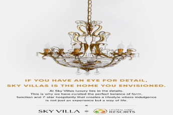 If you have an eye for detail, Central Park Sky Villas is the home you envisioned in Gurgaon