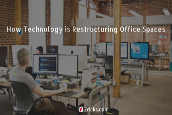How Technology is Restructuring Office Spaces