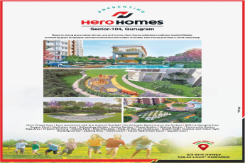 Hero Homes presenting 2 3 bhk at Rs 68 46 lakhs in Gurugram