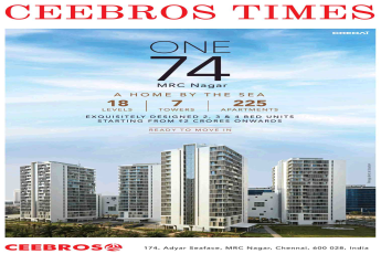 Book a home by the sea at Ceebros One 74 in Chennai