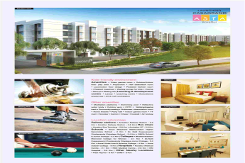 Live in Casagrand Asta and experience the world-class amenities in Chennai