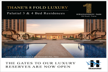 Presenting the gates to our luxury reserves are now open at One Hiranandani Park, Mumbai