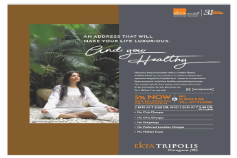Make your life luxurious by residing at Ekta Tripolis in Mumbai