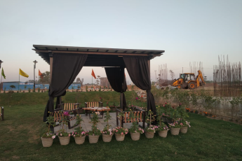 Construction Update as on 3rd March 2021 at Signature Global Park Sohna South Gurgaon