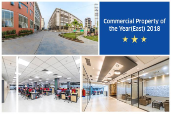 Srijan Industrial Logistics Park awarded Commercial Property of the Year(East) 2018