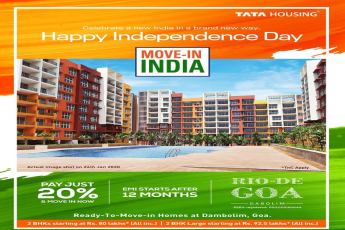 Pay just 20% EMI starts after 12 months at Tata Rio De Goa in Dabolim, Goa
