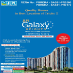 World Class 2 BHK Apartments Redefining Luxury at JLPL Galaxy Heights, Mohali