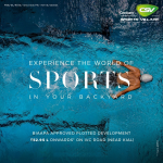 Century Sports Village experience the world of sports in your backyard in Bangalore