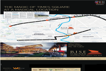 High street  retail shops starting from Rs. 40 lacs at Rise Square, Greater Noida