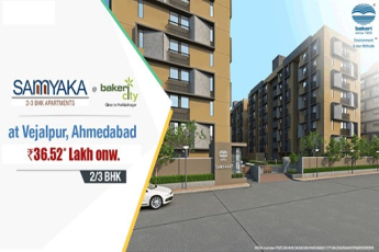 Book 2 and 3 BHK home starting Rs 36.52 lac at Bakeri Samyaka in , Ahmedabad